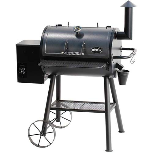 3. BIG HORN OUTDOORS Electric Wood Pellet Grill& Smoker