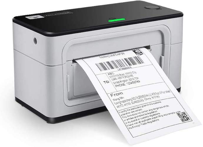 6. USB Label Printer, MUNBYN UPS 4 6 Thermal Shipping Label Address Postage Printer for Amazon, Ebay, USPS, Shopify, FedEx, One Click Set up, Work with Widnows, Mac System