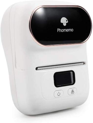 7. Phomemo-M110 Label Printer- Portable Bluetooth Thermal Label Maker