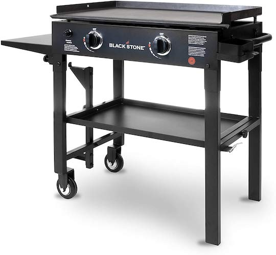 2. Blackstone 28 inch Outdoor Flat Top Gas Grill Griddle Station