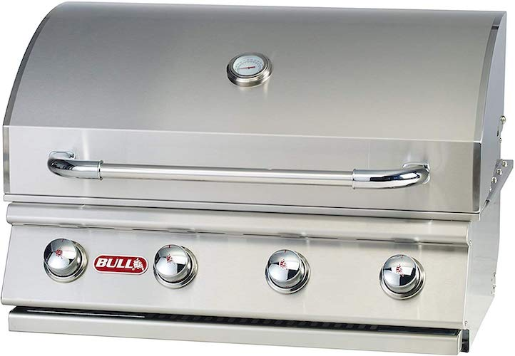 8. Bull Outdoor Products 26039 Natural Gas Outlaw Drop-In Grill Head