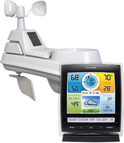 1. AcuRite 01512 Wireless Weather Station with 5-in-1 Weather Sensor