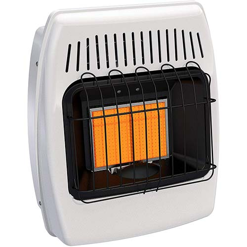 3. Dyna-Glo IR12NMDG-1 12,000 BTU Natural Gas Infrared Vent Free Wall Heater
