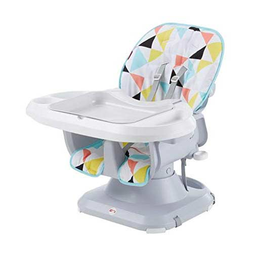 3. Fisher-Price SpaceSaver High Chair