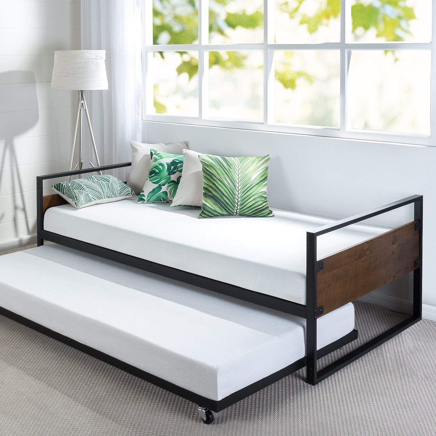 Top 10 Best Daybeds with Pop up Trundle in 2020 Reviews
