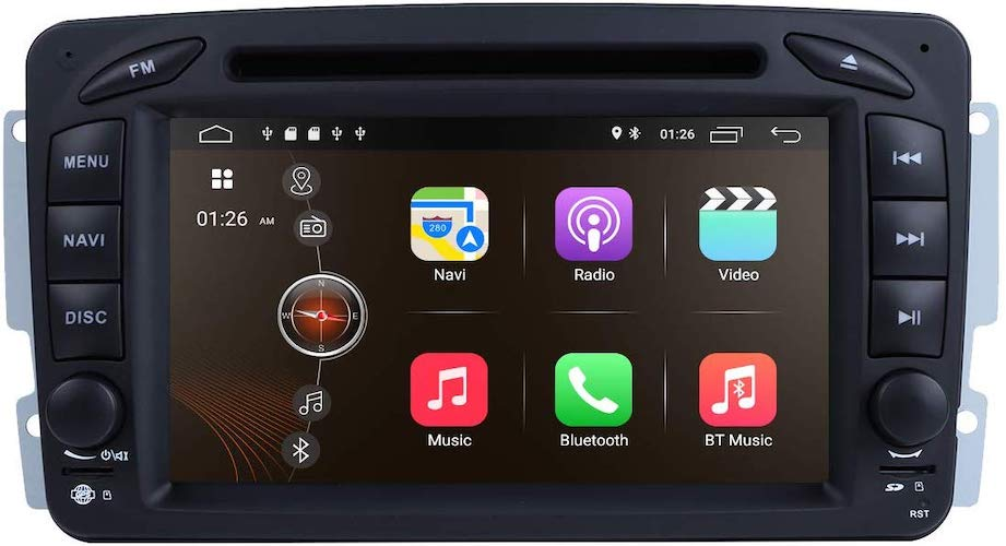 9. Android 9.0 Car Stereo DVD Player 7