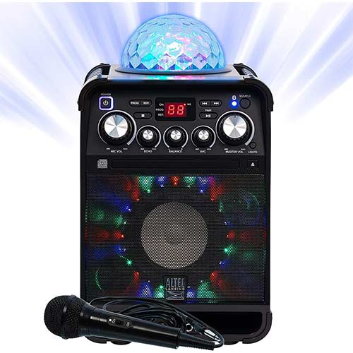 9. Altec Lansing Party Star Karaoke Machine