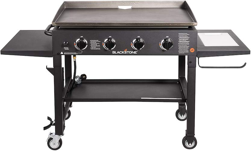 7. Blackstone 36 inch Outdoor Flat Top Gas Grill Griddle Station