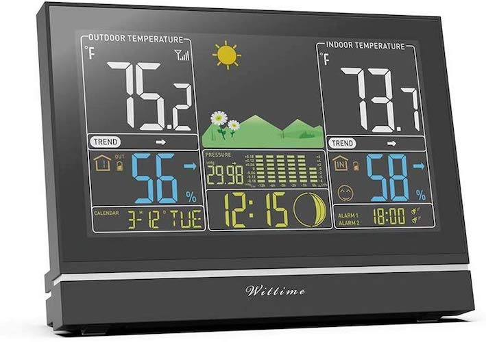 7. Wittime Latest 2076 Weather Station