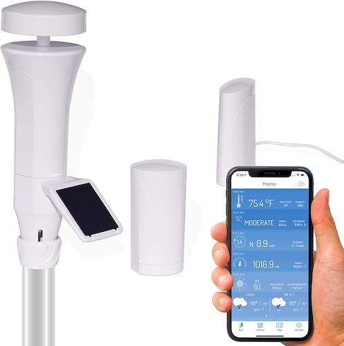 3. WeatherFlow Smart Home Weather Station