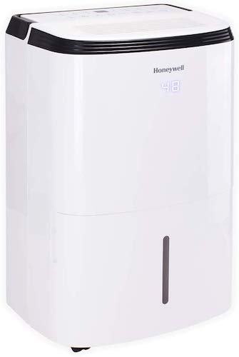 3. Honeywell 70 Pint with Built-In Pump Dehumidifier for Basement & Large Room Up to 4000 Sq Ft. with Anti-Spill Design, TP70PWK