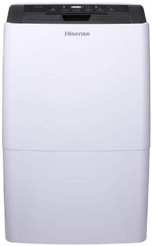 2. Hisense 70 Pint Dehumidifier DH-7019KP1WG with A Built in Pump and Includes Hose Attachment Energy Star Rated Great for Basements and Quiet Operation (Renewed)