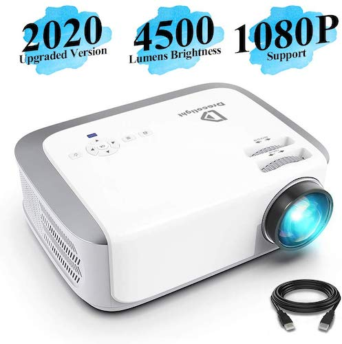 10. Projector, DracoLight 4500 Lux Video Projector