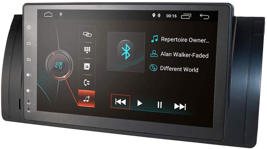 4. Android 9.0 Quad Core 9 Inch 1024x600 HD Touchscreen Car Radio