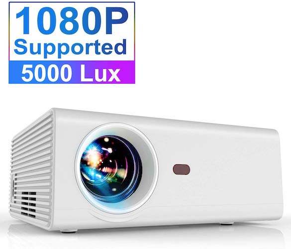 5. Projector, YABER Portable Projector