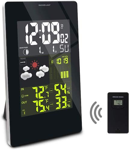 4. JJTGS Weather Station Digital Weather Forecast Station