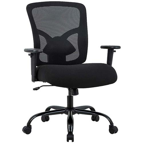 3. Big and Tall Office Chair 400lbs Cheap Desk Chair Mesh Computer Chair