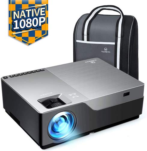 7. VANKYO Performance V600 Native 1080P LED Projector