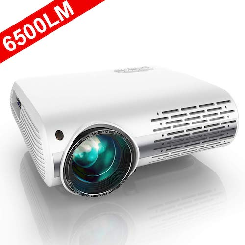 1. YABER Native 1080P Projector 6500 Lumens Upgrade Full HD Video Projector