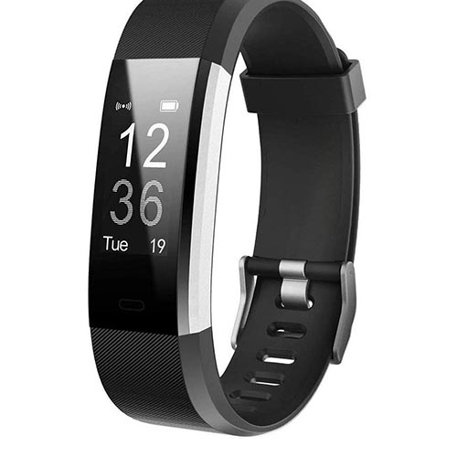 5. Letsfit Fitness Tracker HR, Activity Tracker Watch with Heart Rate Monitor