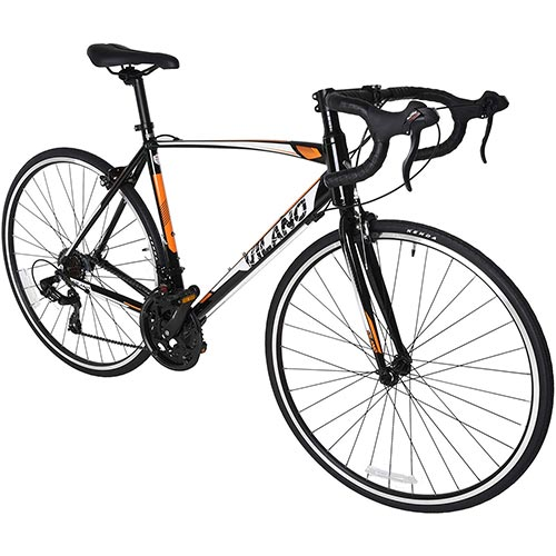 5. Vilano Shadow 3.0 Road Bike with STI Integrated Shifters