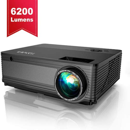 5. YABER Native 1080P Projector 6200 Lux Upgrad Full HD Video Projector