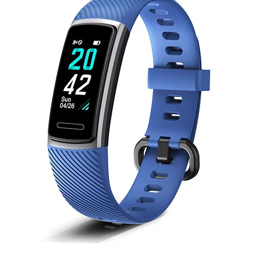 8. Letsfit Fitness Tracker, Activity Tracker with Heart Rate Monitor