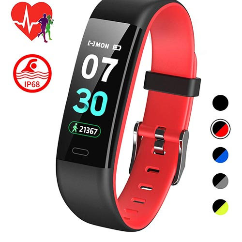 2. Mgaolo Fitness Tracker HR,Activity Tracker IP68 Waterproof Smart Watch Fit Wristband
