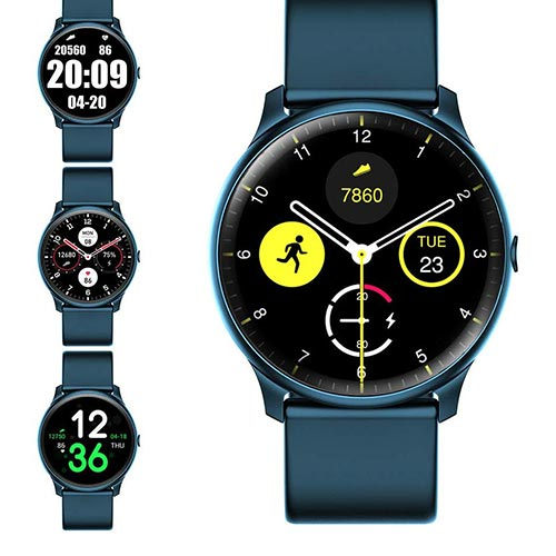 9. Evershop Smart Watch with Heart Rate Monitor Compass for Men Women
