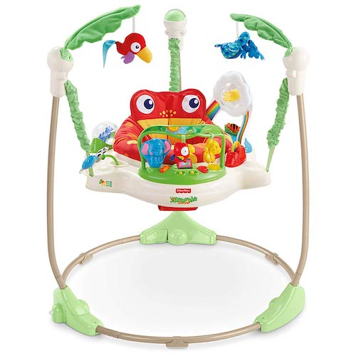 3. Fisher-Price Rainforest Jumperoo