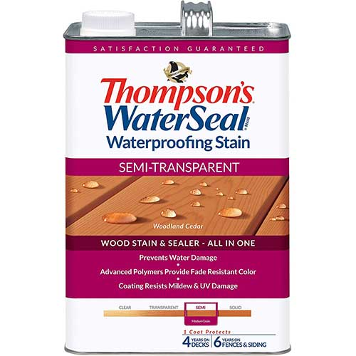 5. THOMPSONS WATERSEAL TH.042851-16 Semi-Transparent Waterproofing Stain