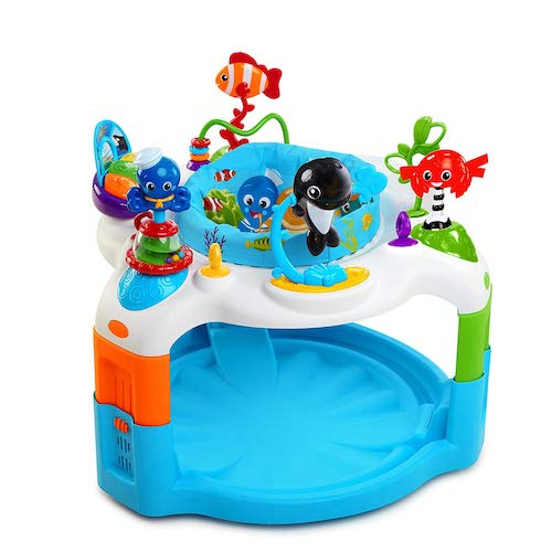 6. Baby Einstein Rhythm of The Reef Activity Saucer