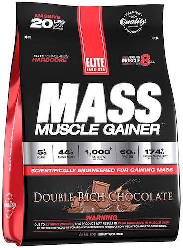 1. Elite Labs USA Mass Muscle Gainer