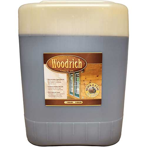 1. Timber Oil Deep Penetrating Stain for Wood Decks, Wood Fences, Wood Siding, and Log Cabins