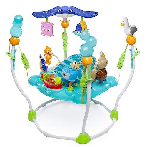 8. Disney Baby Finding Nemo Sea of Activities Jumper