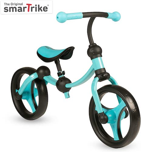 5. SmarTrike Toddler Balance Bike 2,3,4,5 years old - Lightweight & Adjustable kids Balance Bike, Blue