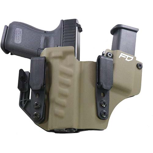 3. Fierce Defender IWB Kydex Holster Glock 19 23 32 +1 Series