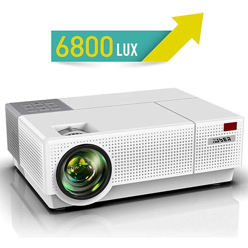 4. Projector, YABER Native 1920x 1080P Projector