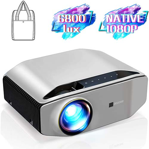 6. GooDee YG620 Native 1080p Projector