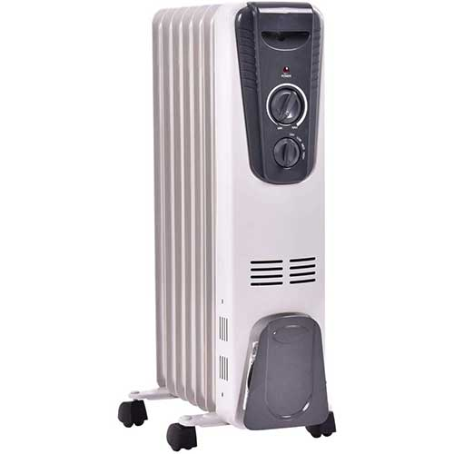 5. GOFLAME Electric Oil Filled Radiator Heater