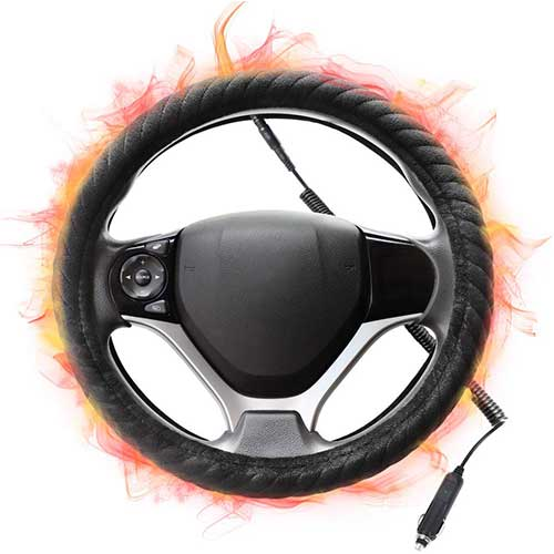 Top 10 Best Rated Heated Steering Wheel Covers in 2020 Reviews