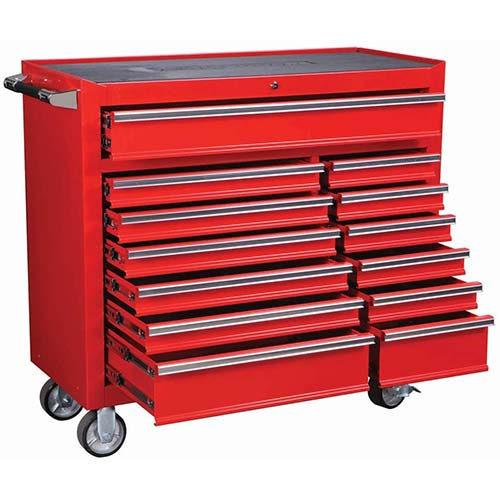6. ROLLER CABINET 2633 LB CAPACITY INDUSTRIAL QUALITY 13 DRAWER 44