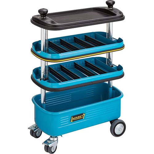 2. Hazet Rolling, Locking, Collapsible Tool Organizer Cart