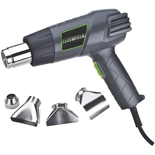 2. Genesis GHG1500A Dual Temperature Heat Gun Kit