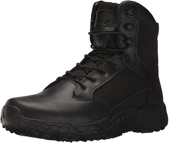 8. Under Armour Men's Stellar Tac Side Zip Sneaker