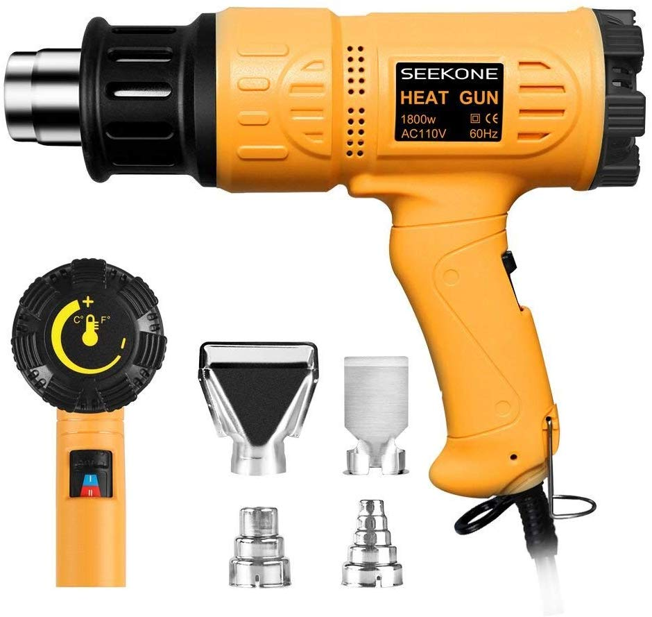 Top 10 Best Heat Guns for Heat Shrink Tubing in 2020 Reviews