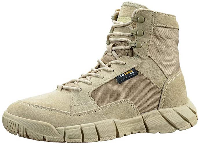 6. ANTARCTICA Men's Lightweight Military Tactical Boots for Hiking Work Boots