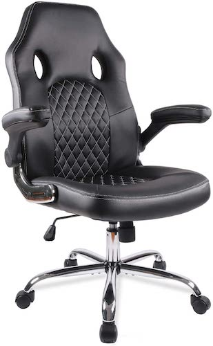 3. Office Chair Desk Leather Gaming Chair