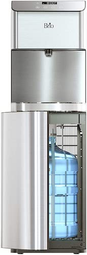 3. Brio Moderna Self Cleaning Bottom Load Hot, Cold & Room Water Cooler Tri Temp W/Touch Dispenser Feature