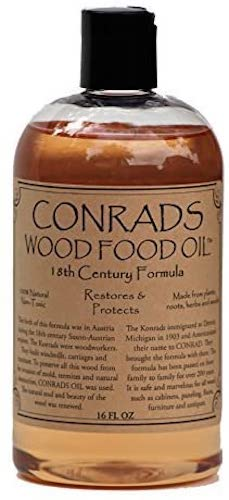 4. Conrads Wood Food Oil (16 oz)